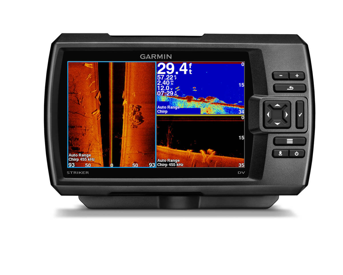 Эхолоты Garmin Striker.